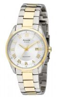 Accurist MB915S Gents Automatic Silver Sun-ray Dial Date Bracelet Watch